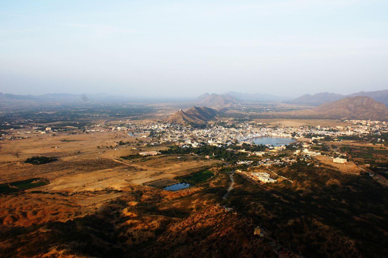 Above Pushkar