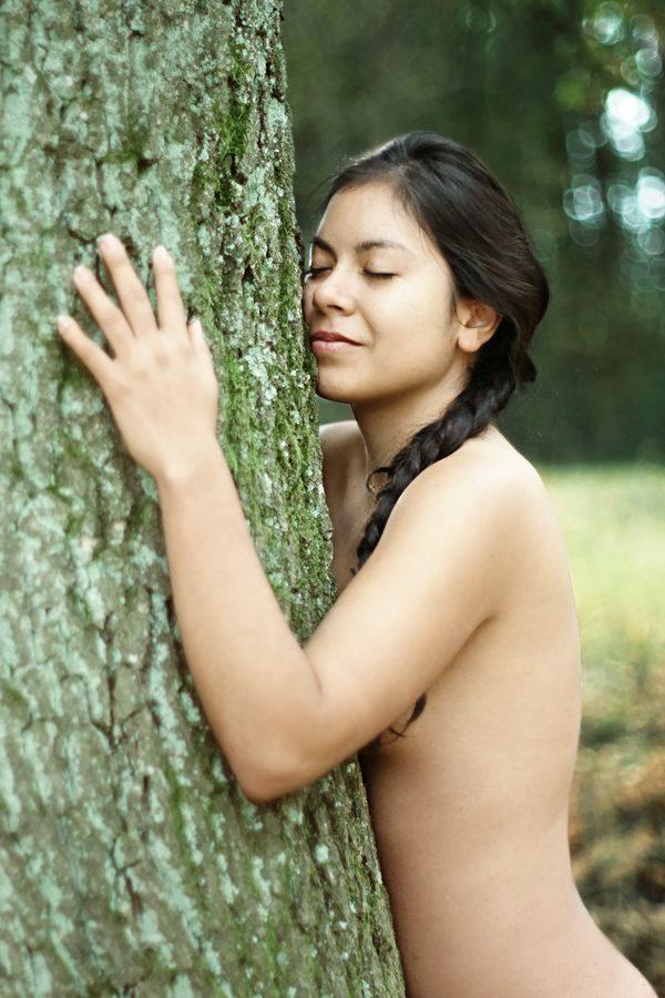 Un câlin d'arbre