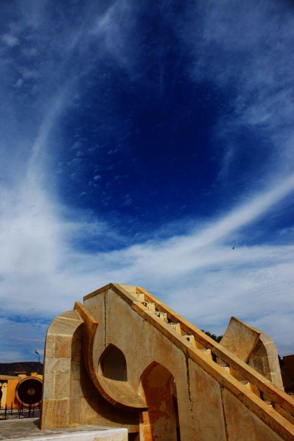 Jantar Mantar Stairway to heaven